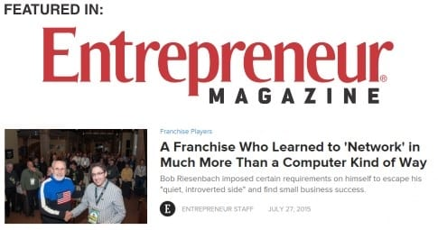 New Jersey IT Support in Entrepreneur Magazine