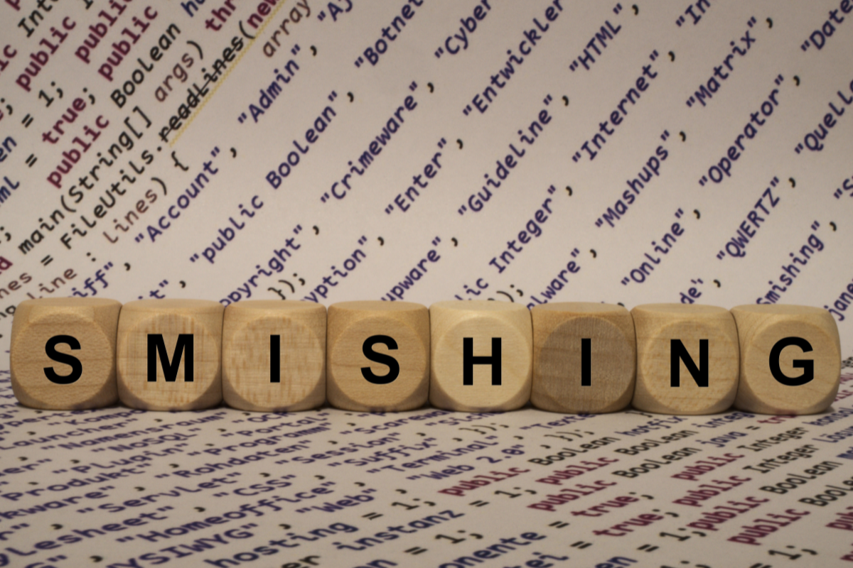 What the Heck Is Smishing?