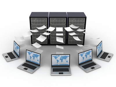 data streaming from laptops to servers