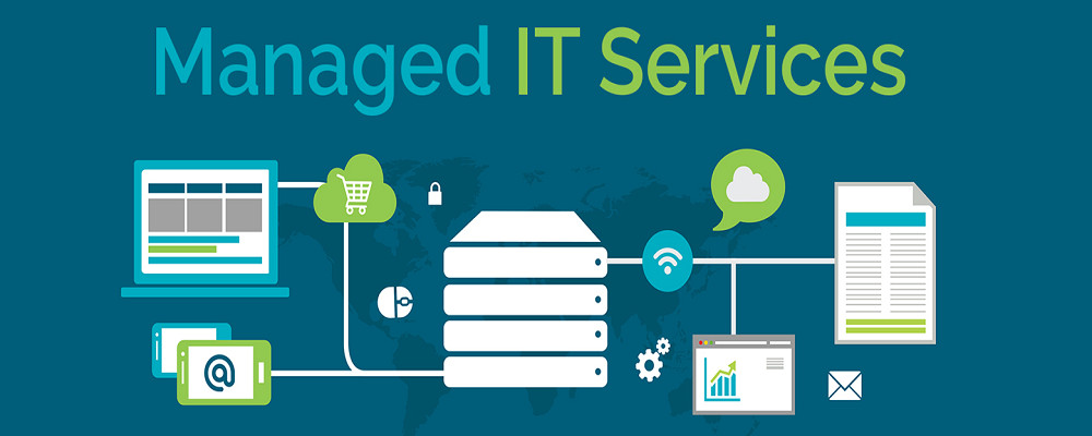managed IT support services infographic