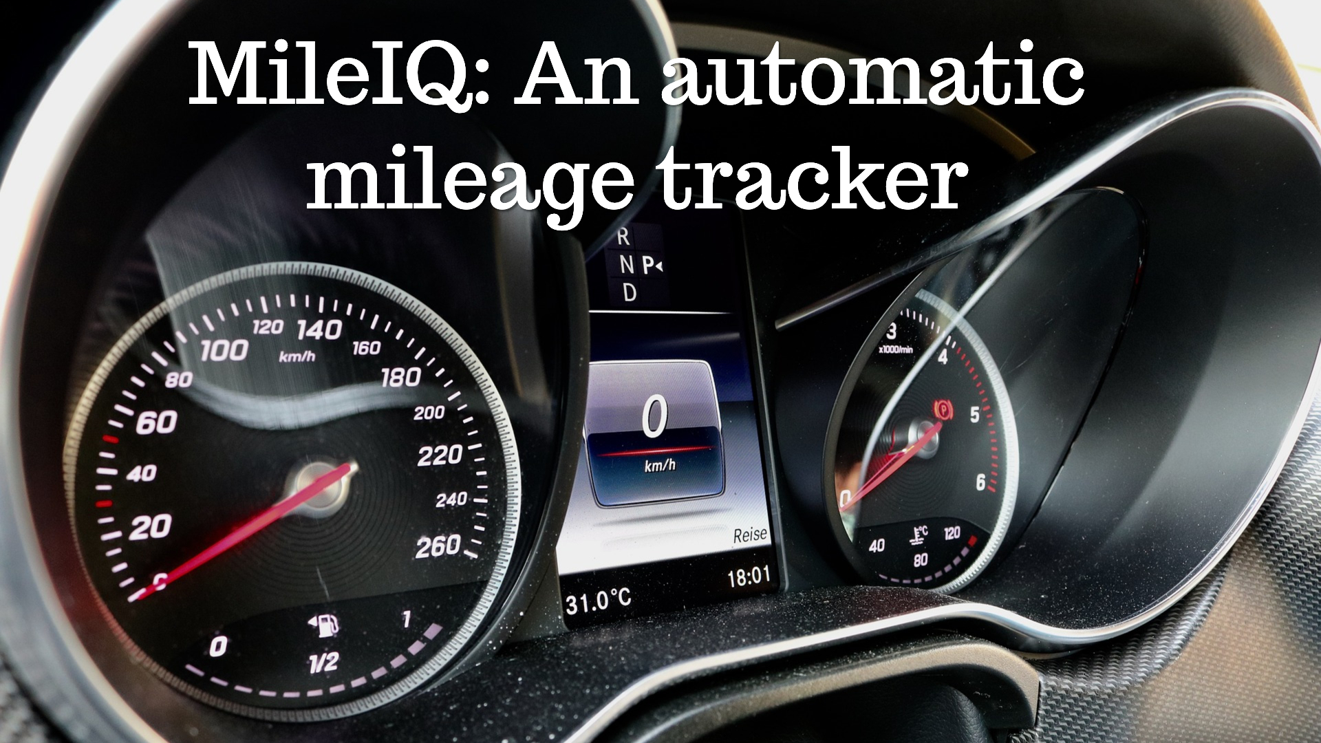 MileIQ: An automatic mileage tracker