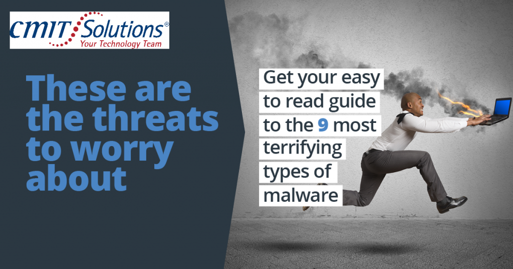 These are the threats to worry about: An easy to read guide to the 9 most terrifying types of malware