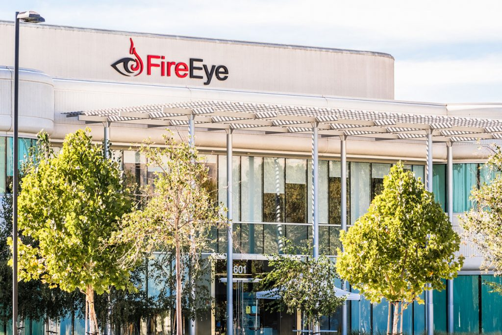 photo of FireEye, one of the world's biggest cybersecurity companies, that recently experienced a cybersecurity breach
