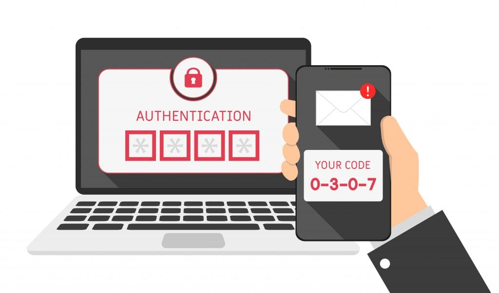 What is the difference between multi-factor and two-factor authentication?