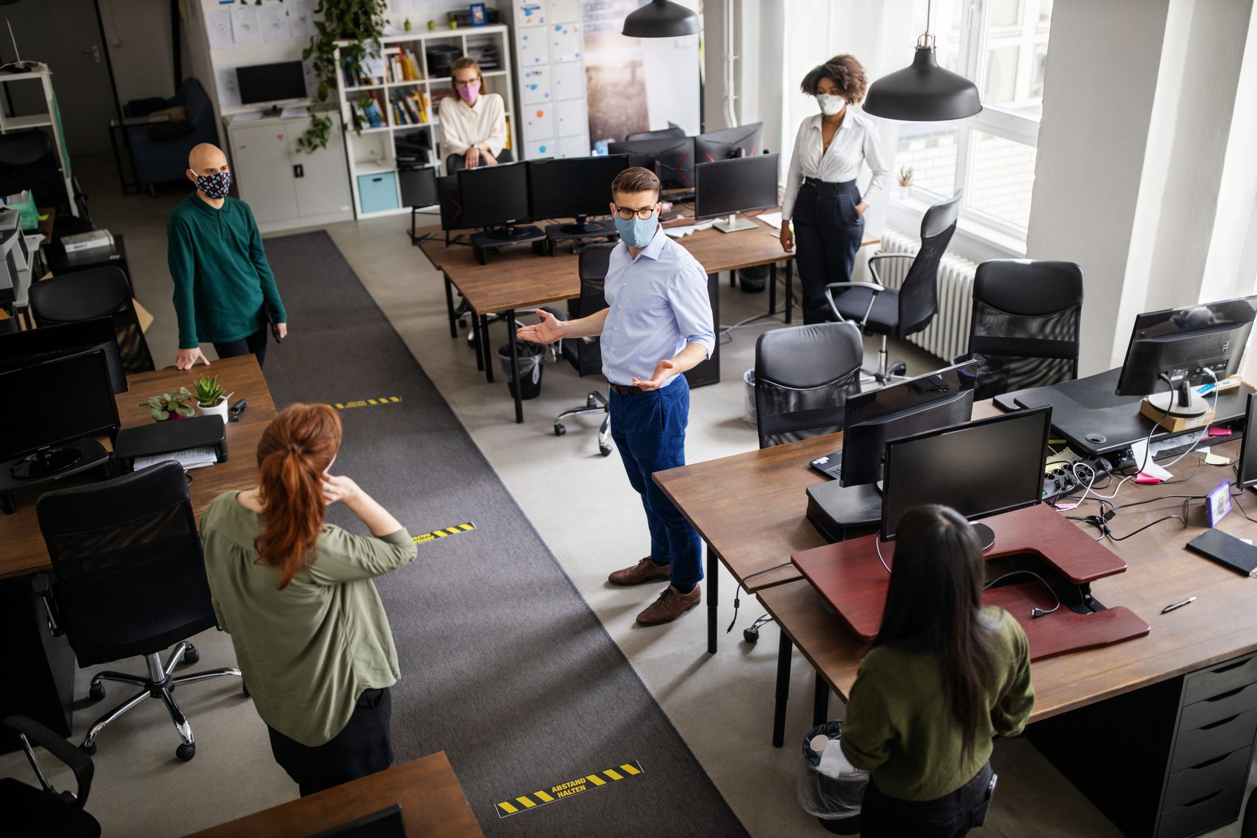 3 Tips for Managing the Return to In-Person Workplaces