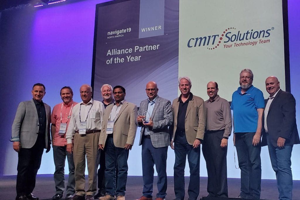 CMIT Solutions Awarded Continuum Alliance Partner of The Year