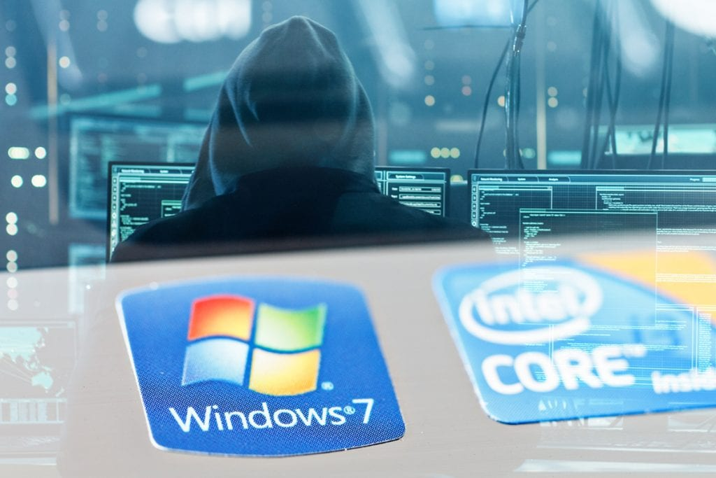 Hackers target Windows 7