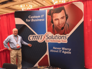 Rick Staton at CompTIA trade show