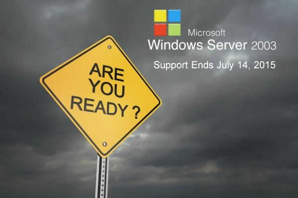 End of Life for Microsoft Server 2003 (1)